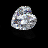 diamant brillant de la coupure 3d Photo stock