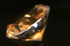 Diamant classique Photo stock