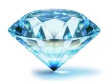 Diamant 3d illustratie stock illustratie