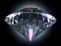 Diamant dans la lumière Photographie stock libre de droits