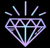 Diamant - de luxe, rijkdom Stock Fotografie
