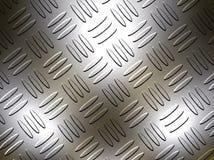 Diamant de plaque métallique image libre de droits