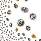 Diamant - de textuur van Diamanten Royalty-vrije Stock Afbeelding