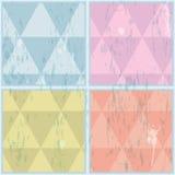 Diamant formad modell. Abstrakt begrepp vektor, EPS10 Arkivbilder
