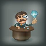 Diamant. Format de vecteur illustration de vecteur