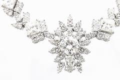 Diamant-Halskette stockfotos