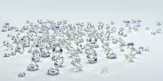 diamant isolerad juvel vektor illustrationer