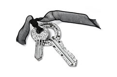 Diamant keys Royalty Free Stock Image