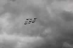 Diamant Kubinka, battleplanes Royaltyfri Fotografi