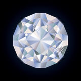 Diamant lumineux brillant Photo stock