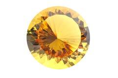 Diamant met het knippen van weg Stock Foto's
