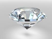 Diamant mit weichen Schatten Lizenzfreie Stockfotos