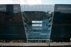 Diamant noir de Copenhague image stock