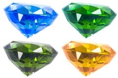 Diamant quatre Images stock