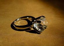 Diamant-Ring stockfoto
