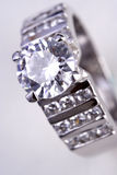 Diamant-Ring Lizenzfreies Stockfoto
