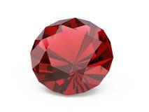 Diamant (robijn) royalty-vrije stock afbeelding
