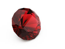 Diamant (robijn) stock illustratie