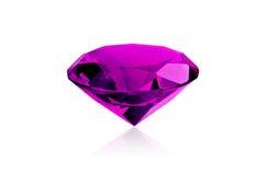 Diamant rose Photographie stock libre de droits