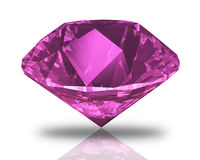 Diamant rose Photos libres de droits