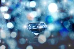 Diamant rougeoyant Photographie stock libre de droits