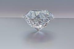 Diamant smycken, ädelsten, briljant 3D, Royaltyfri Fotografi