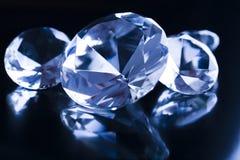 Diamant - teurer Stein Stockbild