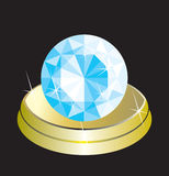 Diamant (vector) royalty-vrije illustratie