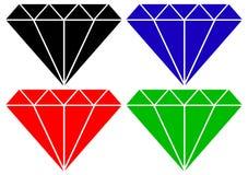 Diamant - Vektor lizenzfreie abbildung
