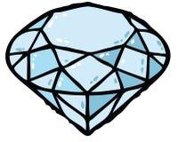 Diamantabbildung lizenzfreie abbildung