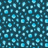 Diamantachtergrond Stock Afbeeldingen