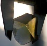 Diamantausschnitt und Schmuckherstellung Stockbilder