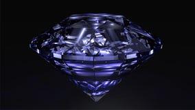 Diamante azul Imagenes de archivo