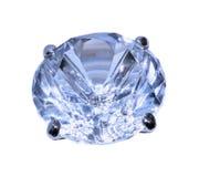 Diamante azul Imagen de archivo libre de regalías