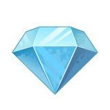 Diamante azul Imagens de Stock