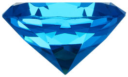 Diamante azul Fotos de Stock Royalty Free