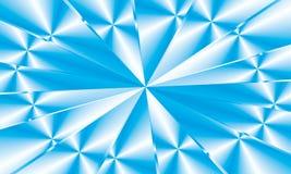 Diamante azul, cruzamento, ilustração Fotos de Stock Royalty Free