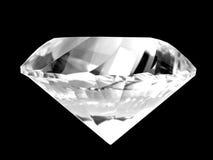 Diamante bianco Fotografia Stock