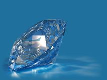 Diamante blu royalty illustrazione gratis