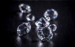 diamante brilhante Fotografia de Stock Royalty Free