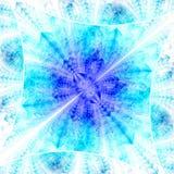 Diamante brillante del color Caos de cristales stock de ilustración
