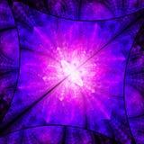Diamante brillante del color Caos de cristales ilustración del vector