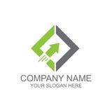 Diamante con el logotipo de la flecha libre illustration