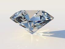 Diamante con la dispersión Imagenes de archivo