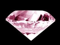 Diamante cor-de-rosa Imagem de Stock