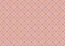 Diamante cor-de-rosa teste padrão dado forma ilustração stock
