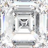 diamante costoso dei gioielli della macro pietra preziosa bianca dell'illustrazione 3D illustrazione vettoriale