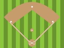 Diamante de basebol Imagens de Stock Royalty Free