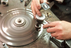 Diamante de estaca do homem Fotografia de Stock