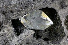 Diamante de Herkimer imagem de stock